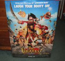 The Pirates Band Of Misfits Movie Poster 27 X 40 Orange Background