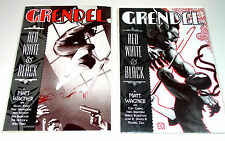 GRENDEL RED, WHITE AND BLACK #2 AND #4 SELF CONTAINED STORIES 2002