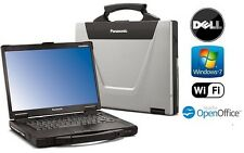 PANASONIC CF-52 TOUGHBOOK  C2D 2.26GHz 4GB 1TB HDD TOUCHSCREEN LAPTOP WIN 7 PRO