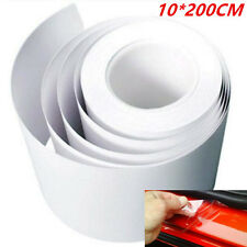Clear Car Door Sill/Edge Paint Protection Anti-Scratch Film Vinyl Sheet 10*200cm