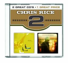 2x : Amusing & What a Heart is Beating - Chris Rice (2CD, Provident Music)