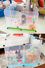Petstyle Japanese transparent Plastic Pet Playpen (Free Postage)