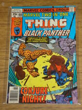 MARVEL TWO-IN-ONE #40 VF/NM (9.0) MARVEL BLACK PANTHER