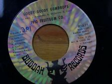 "1910 FRUITGUM CO. 45 RPM ""Goody Goody Gumdrop"" & ""Candy Kisses"" VG Condition"