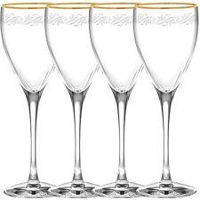 Noritake Crestwood Gold Goblets, Set of 4