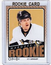 09-10 2009-10 O-PEE-CHEE BEN LOVEJOY ROOKIE RC 546 PITTSBURGH PENGUINS