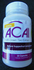 Natures Best Solution Acai Berry with Green Tea Extract Superfruit - 30 capsules