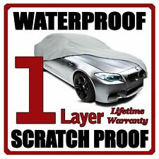 1 Layer Car Cover Breathable Waterproof Layers Outdoor Indoor Fleece Lining Fig