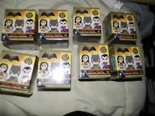 Funko Mystery Minis Batman V Superman LOT OF 8 Sealed New Unsearched