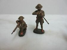 Vintage Elastolin Germany Army Soldier WW1 Rifleman Infantry Toy Figure