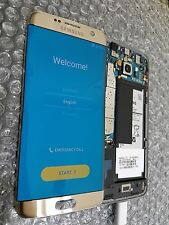 New Samsung Galaxy S7 Edge G935A G935V LCD Digitizer Gold - LCD Blemish ~