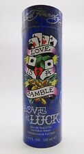 LOVE & LUCK By Ed Hardy 3.4 3.3 oz 100 ml Men Cologne EDT Spray New In Box