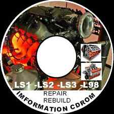 HOLDEN V8 LS1-LS2-LS3-L98-LQ4-LQ9 V8 ENGINE INFO REBUILD,REPAIR,MODIFING  CDROM
