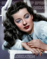 GAIL RUSSELL WEARING A POWDER BLUE BLOUSE BEAUTIFUL COLOR PHOTO BY CHIP SPRINGER