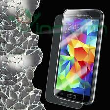 Pellicola in  VETRO temprato trasparente pr Samsung Galaxy S5 mini G800F display