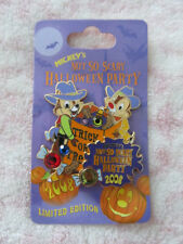 Disney Pin - Mickey's Not So Scary Halloween Party 2008 - Cowboys Chip and Dale