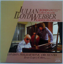 JULIAN LLOYD WEBBER RODRIGO/LALO Cello Concerto 1982 OZ RCA Red Seal ** MINT **