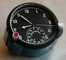 8-day Soviet AirForce Cockpit Clock 60CP / 60ChP (GREEN) for USSR MiG/Su jet