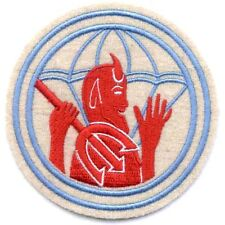 US Army 504th Airborne Infantry Regiment Military Patch DEVIL AND PITCH FORK