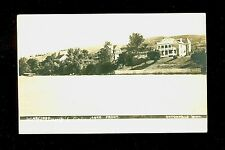 1908 RPPC Large Homes on Lake Front Big Stone Lake Ortonville MN  A9432
