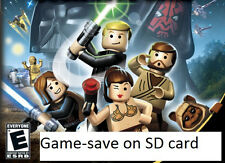 GAME-SAVE ON SD CARD for LEGO Star Wars Complete Saga, Wii 100% cheat file