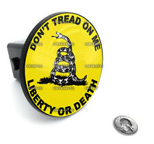 "2"" Tow Hitch Receiver Plug Cover Insert For SUV's & Trucks - ""Don't Tread"""