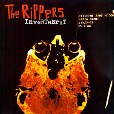 THE RIPPERS Invertebrat LP . turbonegro vomit pigs poison idea punk señor no