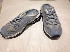 SKECHERS sport ladies blue size 4.5 slip on trainers. VGC Worn Once (T)