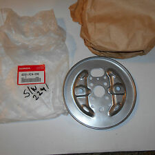 GENUINE HONDA PARTS FRON BRAKE BACKING PLATE TRX300 FOURTRAX 88/92 45101-HC4-006