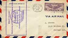 Etats Unis USA 1ers vols first flights airmail 101