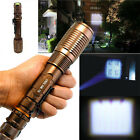 4000 Lumen Zoomable CREE XML T6 LED 18650 Flashlight Focus Torch Adjustable Lamp