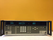 Fluke 6060A, 10 kHz to 1050 Mhz, RF Signal Generator, For Repair (Error 40)