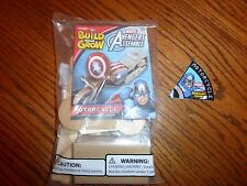 Lowes Build and Grow 2015 Avengers Captain America MOTORCYCLE KIT & PATCH ONLY