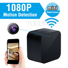 TOGUARD HD 1080P Wall Charger Cam SPY Hidden Camera Home Nanny WIFI App Control