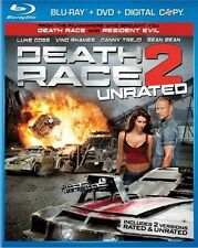 Death Race 2 [Rated/Unrated] [2 Discs] [Blu- (Blu-ray Used Very Good) BLU-RAY/WS
