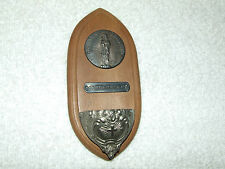 Antique French Ste. Anne De Beaupre Wall Home Devotional Holy Water Font RARE!
