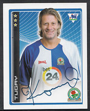 Merlin Pegatina de fútbol - 2007-no 66 Premier League-Blackburn-Tugay
