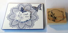 STAMPIN UP Framed Daffodils stamp~use with hello doily su set