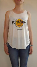HARD ROCK CAFE LONDON T-Shirt Vest TOP Ladies Women Girls HARDROCK CAFE TSHIRT
