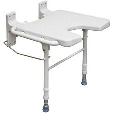 Fold Down Shower Seat Folding Safety Bench Wall Mount Bath Chair Handicapped Tub