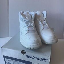 Reebok BB4600 Ultra Mid Men's 9.5 NEW from Late 1990s NIB NOS 4-21651 White