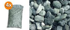 4 Sacchi da 25kg ciottoli di marmo Verde Alpi 40/60 mm sassi pietre giardino