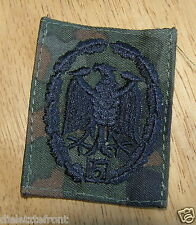 "BUNDESWEHR GERMAN ARMY ""Military Proficiency"" 5 YEAR REPEAT BADGE SUBDUED"