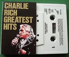 Charlie Rich Greatest Hits inc The Most Beautiful Girl + Cassette Tape - TESTED