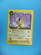 DARK JOLTEON Collectable Official Pokemon Trading Card PCG TCG P6