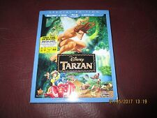 TARZAN (Blu-ray/DVD, 2014, 2-Disc Set, Includes Digital Copy) Authentic U.S.Item