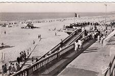 SOULAC-SUR-MER 223 le ponton et la plage timbrée 1930