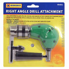 "RIGHT ANGLE DRILL ATTACHMENT CHUCK KEY ADAPTER 3/8"" DIY TOOL ACCESSORY CORDLESS"