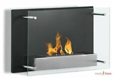 Moda Flame Epila Wall Mounted Ethanol Fireplace Smokeless Clean Bio Eco Fuel