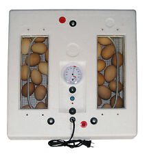 FARM INNOVATORS CHICKEN EGG STILL AIR INCUBATOR WITH THERMOMETER & HYGROMETER
